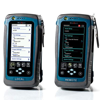 赛博Psiber WireXpert超万兆线缆认证测试仪(WX4500-FA)