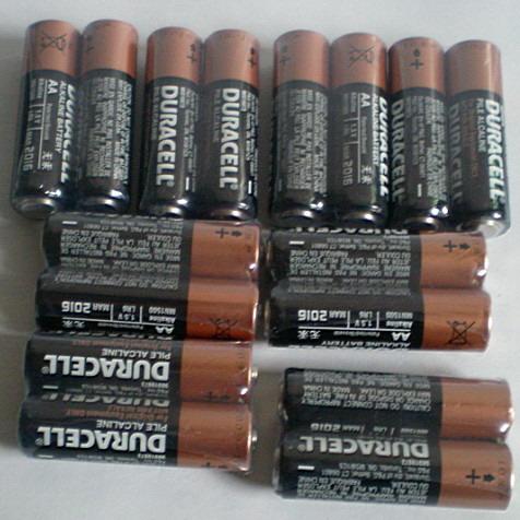 金霸王5号电池