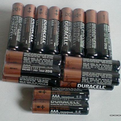 金霸王碱性锌-锰干电池(DURACELL 5号/7号电池)