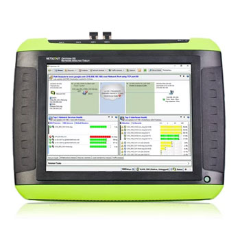OptiView XG平板电脑式手持网络分析仪