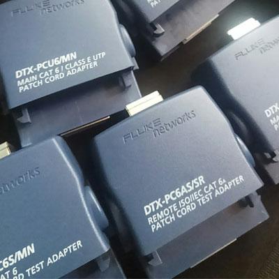 DTX-1800/DSX-5000单体测试PatchCord测试解决方案(CAT5E,CAT6,CAT6A)