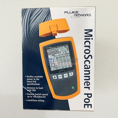 Microscanner PoE/MS-POE/MS-POE-KIT 电缆验测仪 网线测试仪